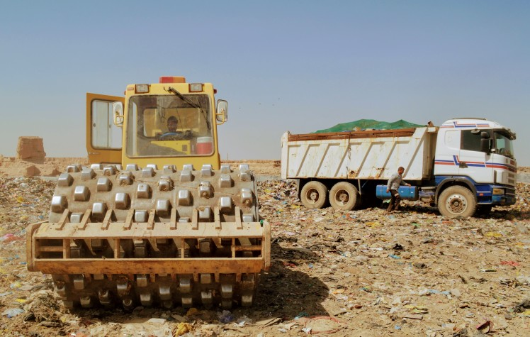 disposal vehicles in iraq